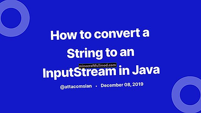 Java InputStream to String