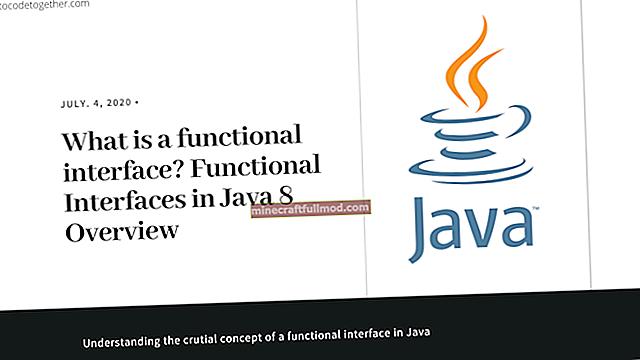 Ръководство за интерфейс за екстернализация в Java