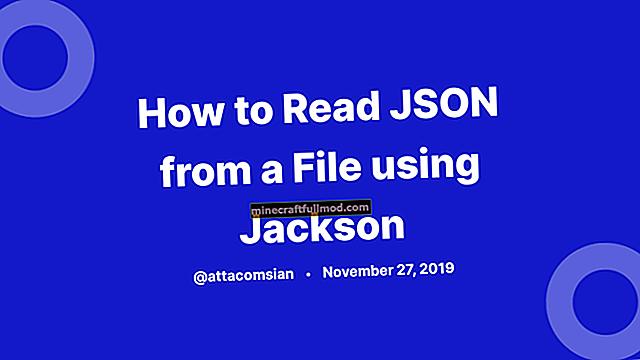 Tutorial Jackson JSON