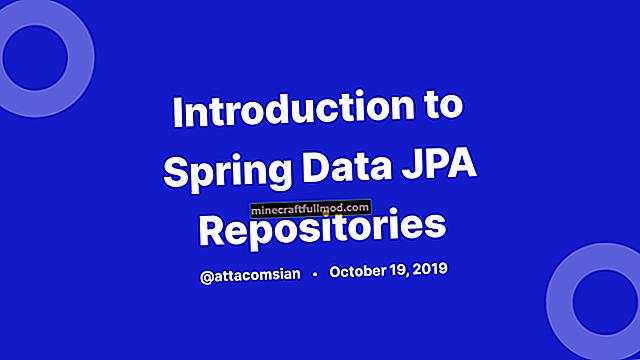 Pengenalan JPA Spring Data