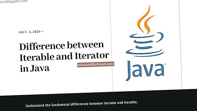 Panduan untuk Iterator di Jawa