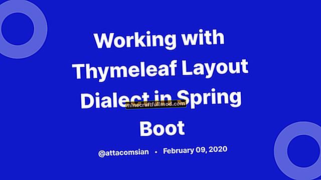 Bekerja dengan Fragmen di Thymeleaf