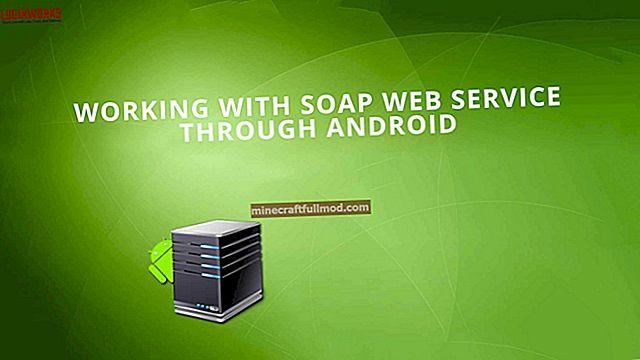 Memohon Perkhidmatan Web SOAP di Java