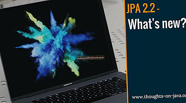 JPA 2.2 Поддръжка за Java 8 Типове дата / час