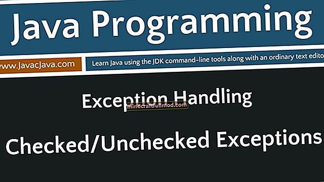 Pengecualian yang Diperiksa dan Tidak Diperiksa di Java