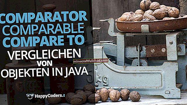 Сравнителен и сравним в Java