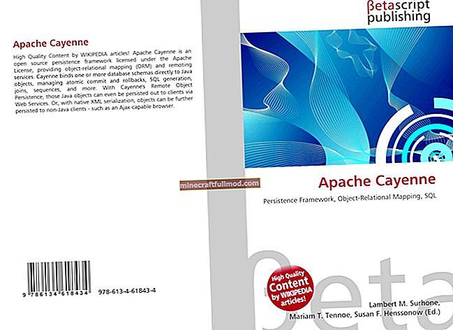 Introduktion till Apache Cayenne ORM