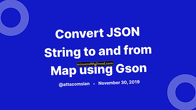 Tukar String ke JsonObject dengan Gson