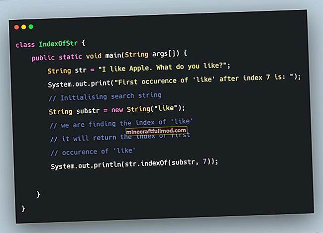 Dapatkan Substring dari String di Java