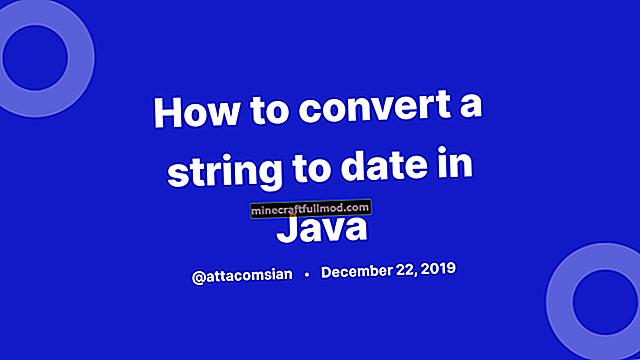 Преобразуване на низ в дата в Java