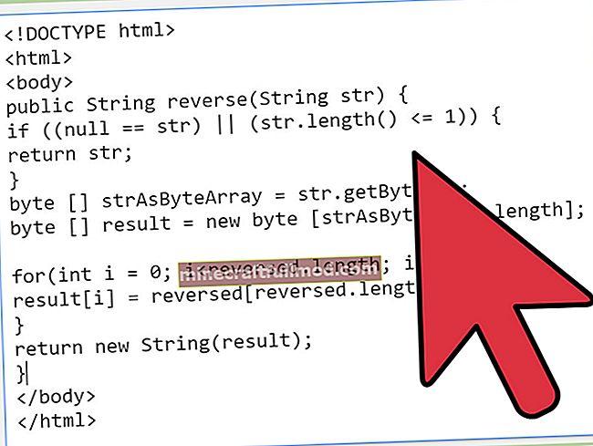 Как да обърнете низ в Java