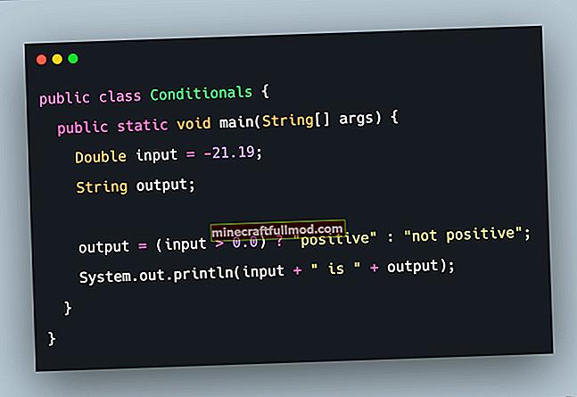 Тернарен оператор в Java