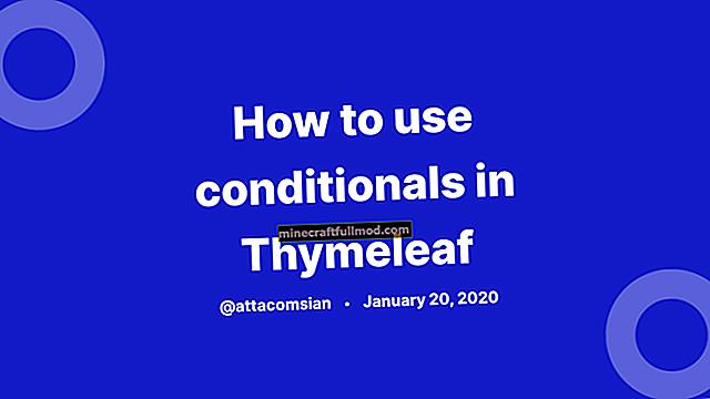 Menggunakan Input Tersembunyi dengan Spring dan Thymeleaf