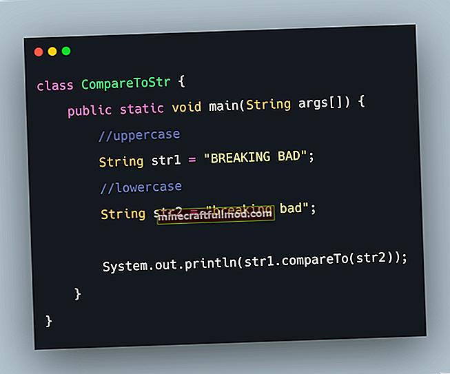 Сравняване на низове в Java